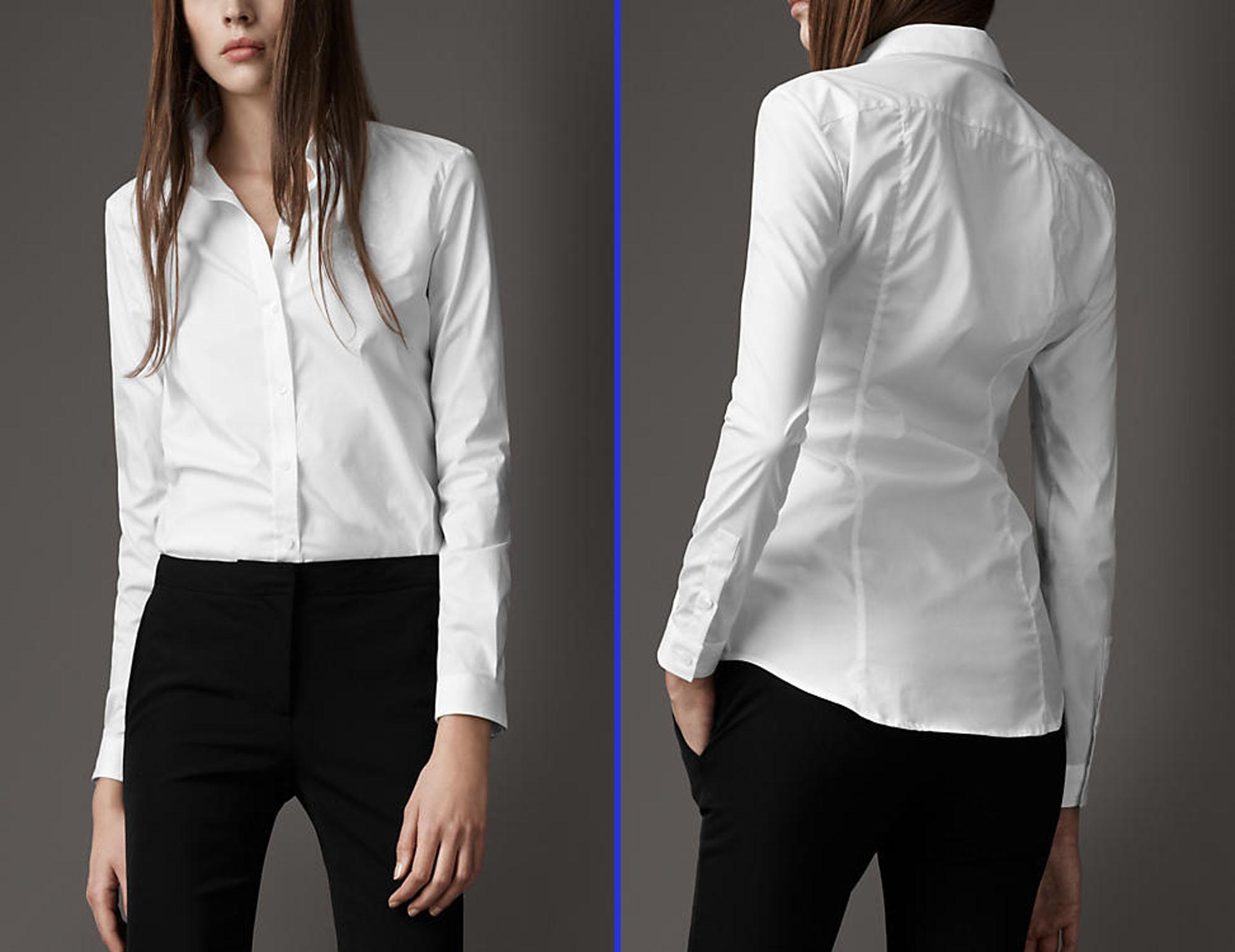 Camasile albe-cum le purtam in 20